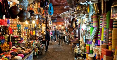 Souk markets, Marrakech, Morocco