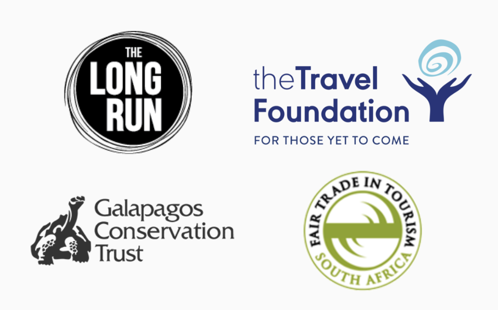 Assorted ethical travel campaigns supported by Travel Matters