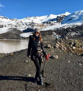 Maryna travelled to Iceland in April 2019