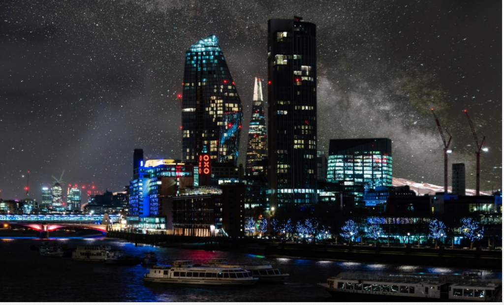 Starry Night over London